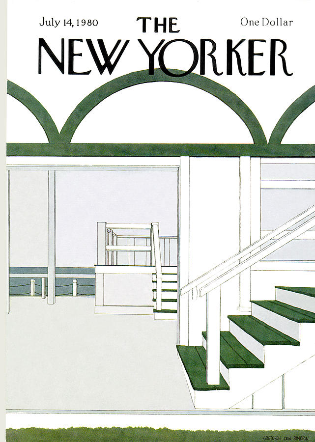 New Yorker July 14th, 1980 Painting by Gretchen Dow Simpson