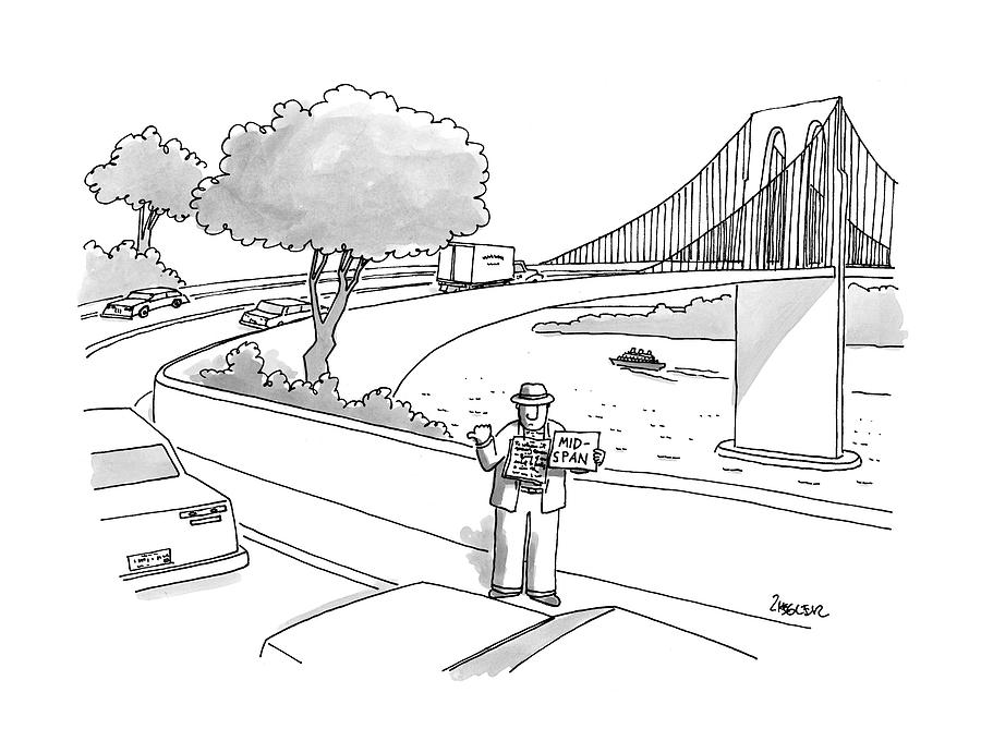 New Yorker July 14th, 1997 Drawing by Jack Ziegler