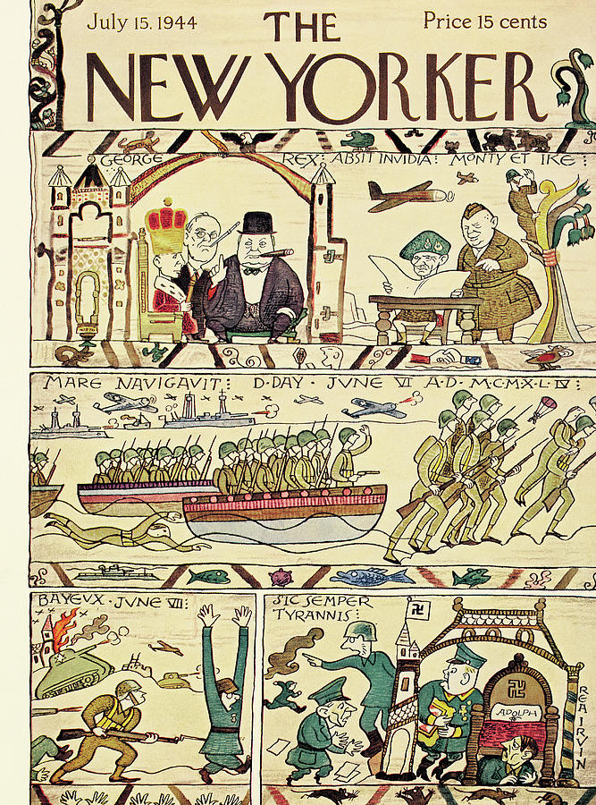 New Yorker July 15th, 1944 Painting by Rea Irvin