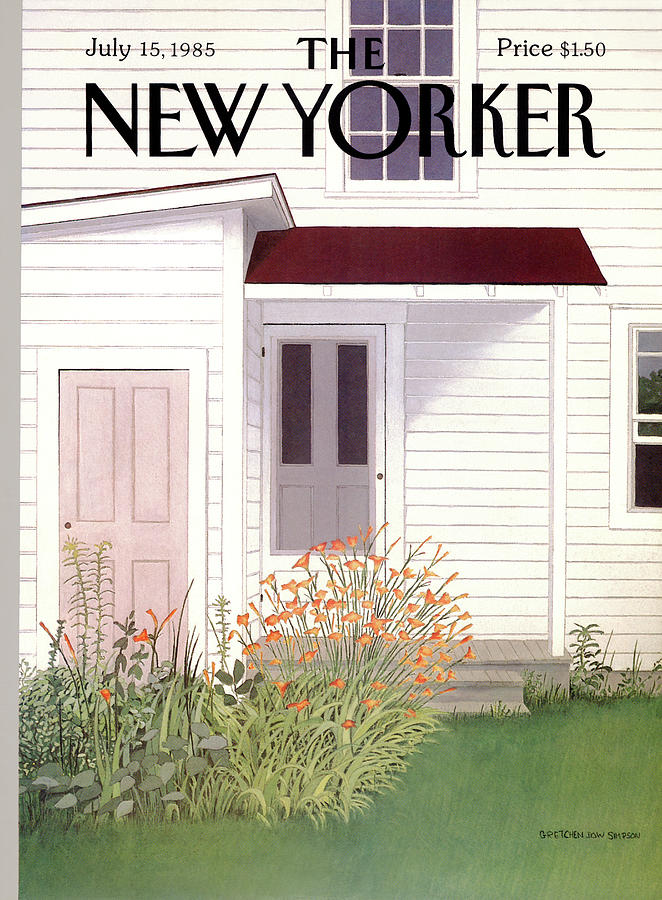 New Yorker July 15th, 1985 Painting by Gretchen Dow Simpson