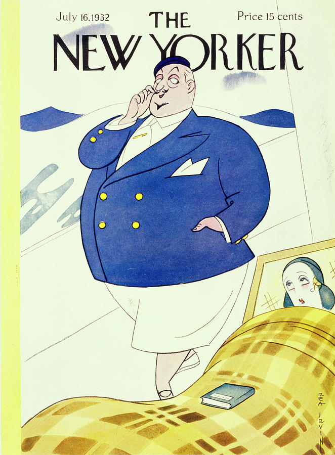 New Yorker July 16 1932 Painting by Rea Irvin