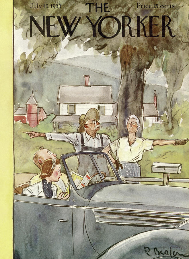 New Yorker July 16, 1938 Painting by Perry Barlow