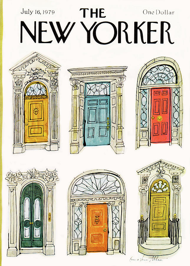 New Yorker July 16th, 1979 Painting by Laura Jean Allen