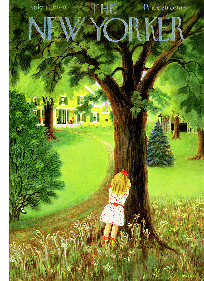 New Yorker July 17th, 1948 Painting by Edna Eicke