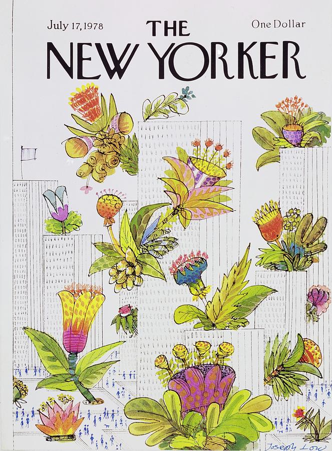New Yorker July 17th 1978 Painting by Joseph Low