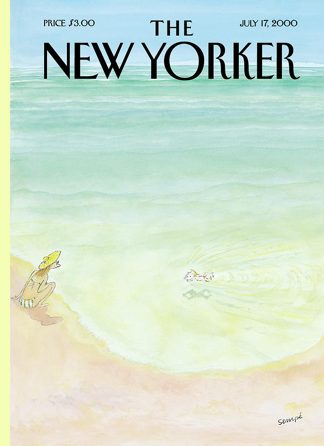 New Yorker July 17th, 2000 Painting by Jean-Jacques Sempe