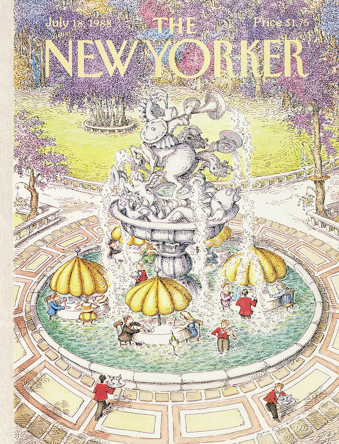 New Yorker July 18th, 1988 Painting by John OBrien