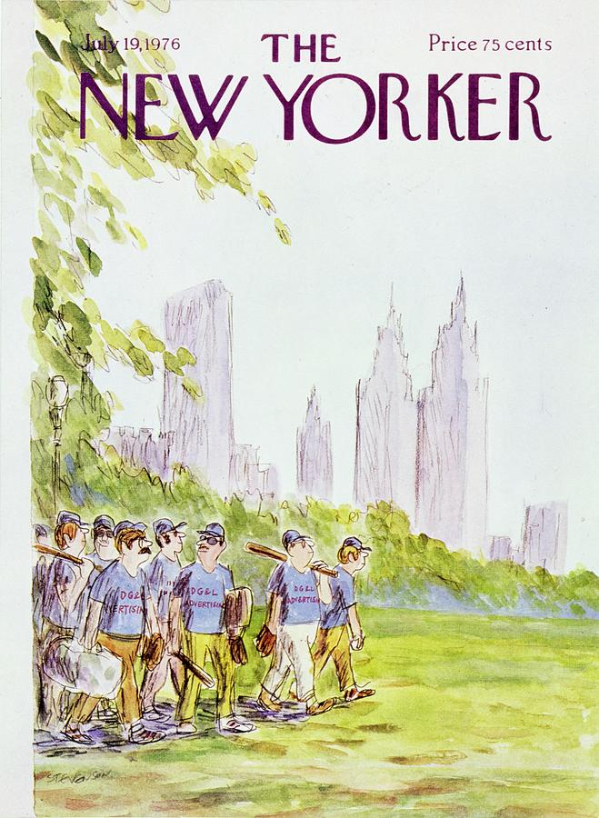 New Yorker July 19th 1976 Painting by James Stevenson