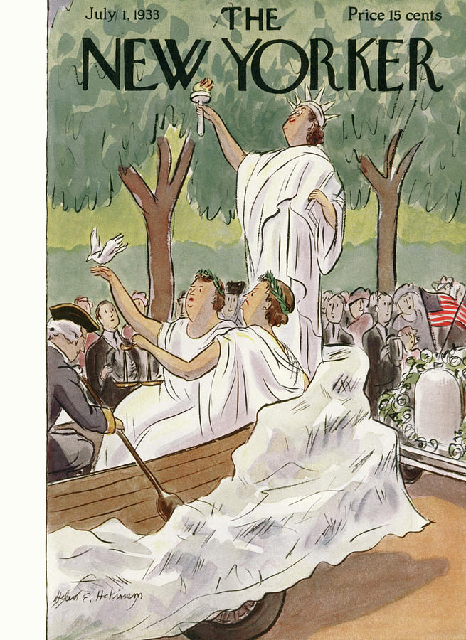 New Yorker July 1st, 1933 Painting by Helen E Hokinson