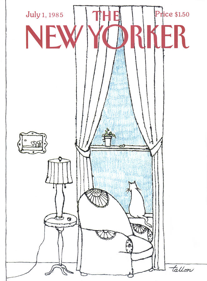 New Yorker July 1st, 1985 Painting by Robert Tallon