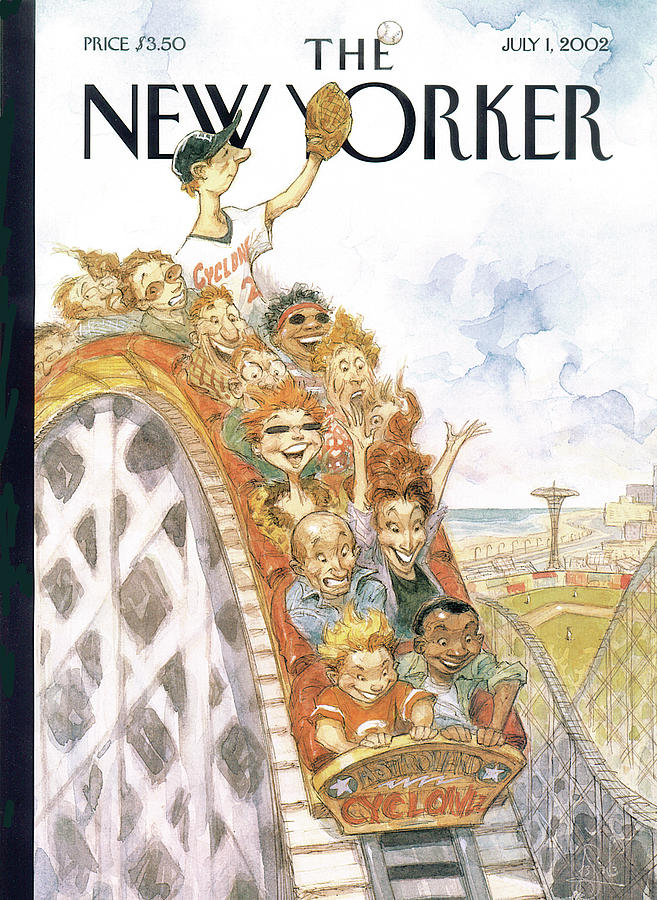 New Yorker July 1st, 2002 Painting by Peter de Seve