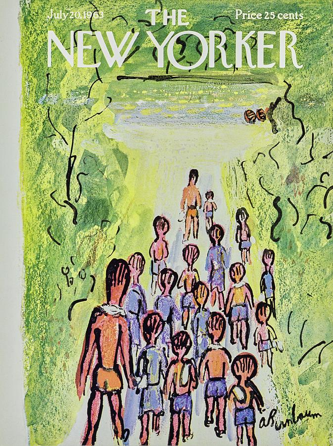 New Yorker July 20th 1963 Painting by Aaron Birnbaum