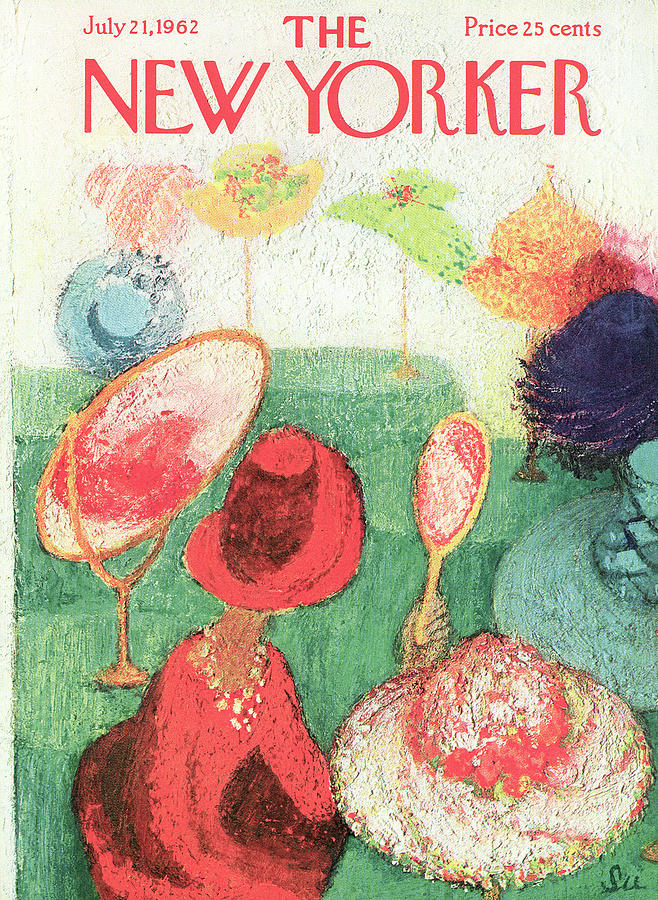 New Yorker July 21st, 1962 Painting by Su Zeigler