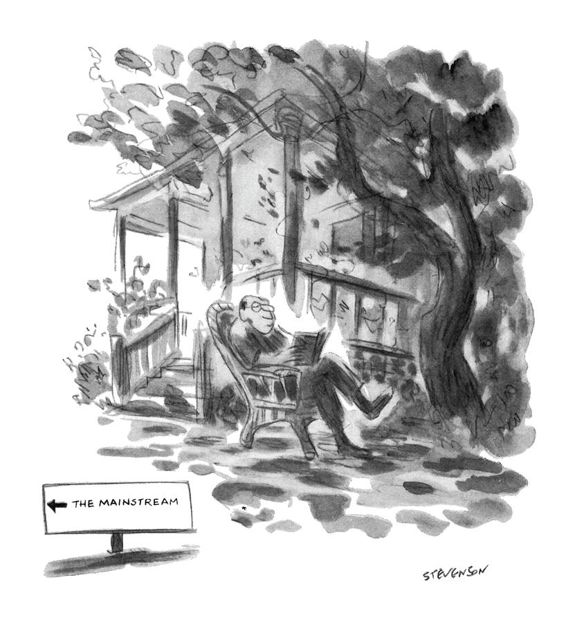 New Yorker July 21st, 1975 Drawing by James Stevenson