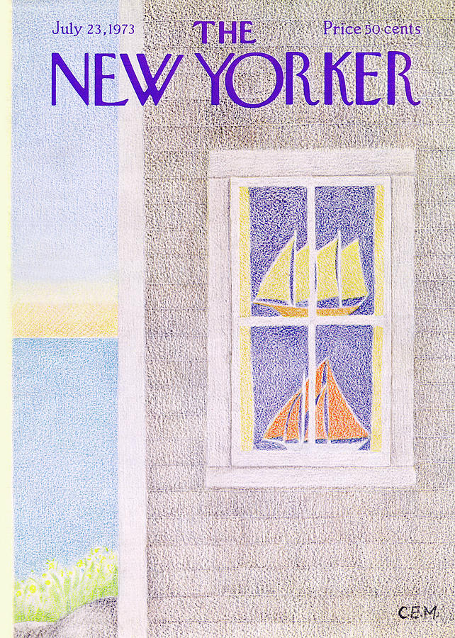 New Yorker July 23rd, 1973 Painting by Charles E Martin
