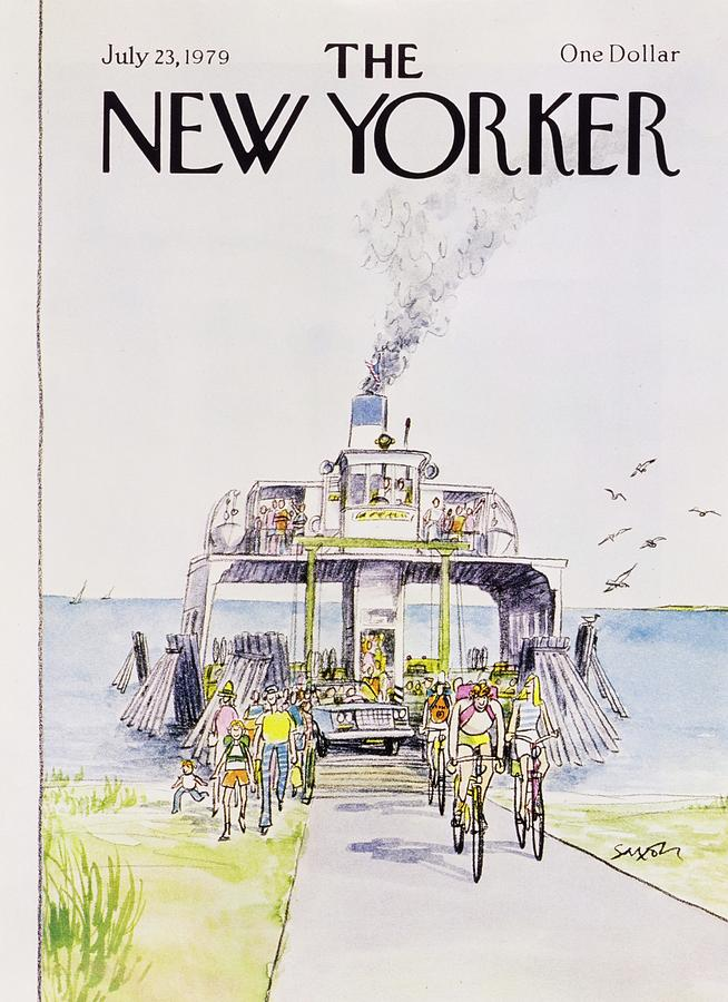New Yorker July 23rd 1979 Painting by Charles D Saxon