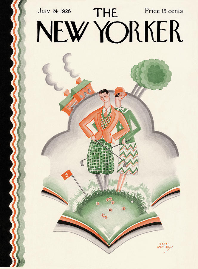 New Yorker July 24th, 1926 Painting by Ralph Jester
