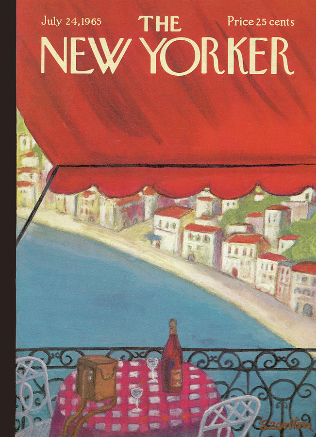 New Yorker July 24th, 1965 Painting by Beatrice Szanton