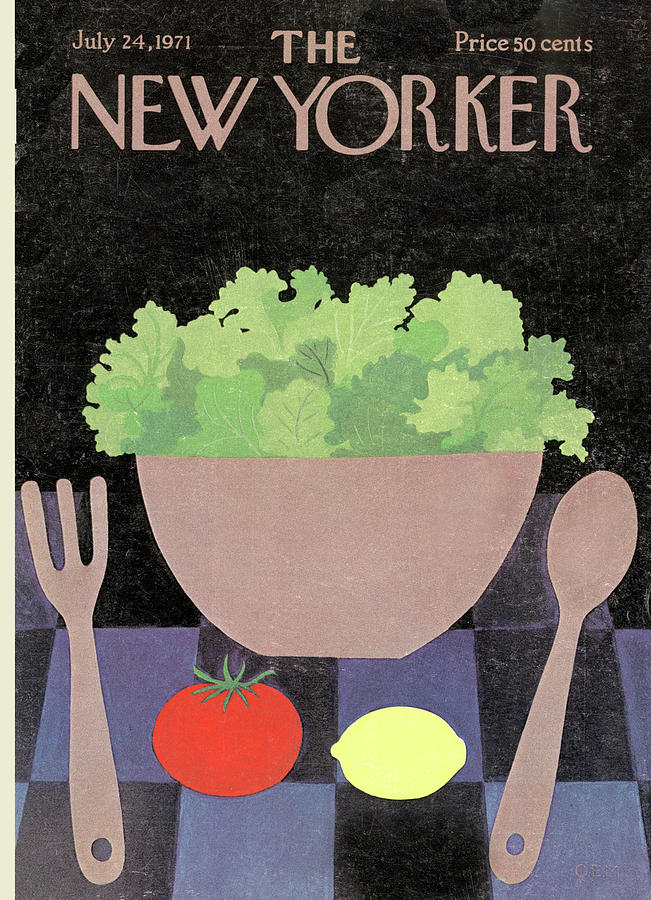New Yorker July 24th, 1971 Painting by Charles E Martin