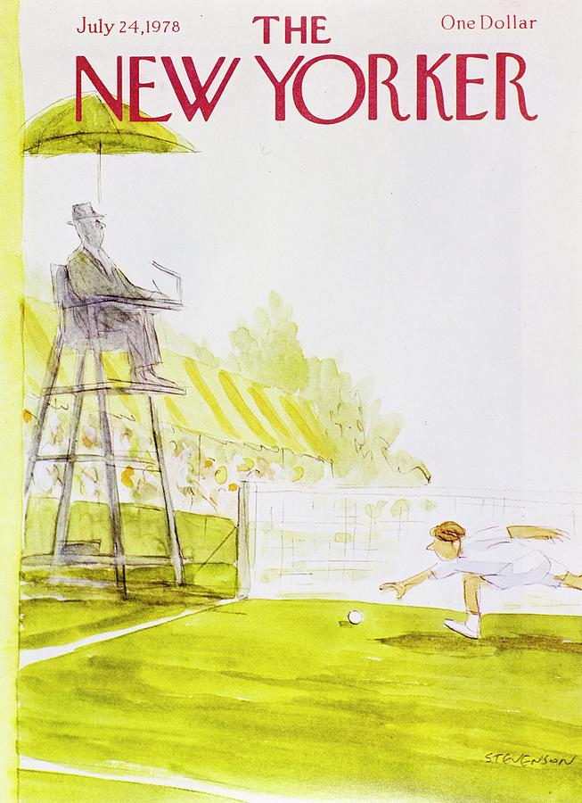 New Yorker July 24th 1978 Painting by James Stevenson