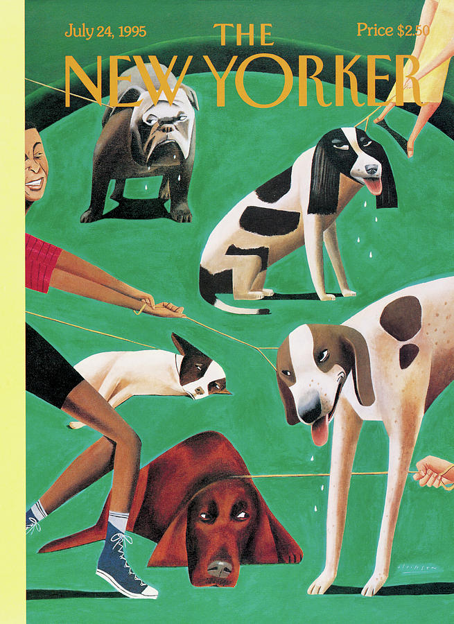 New Yorker July 24th, 1995 Painting by Mark Ulriksen