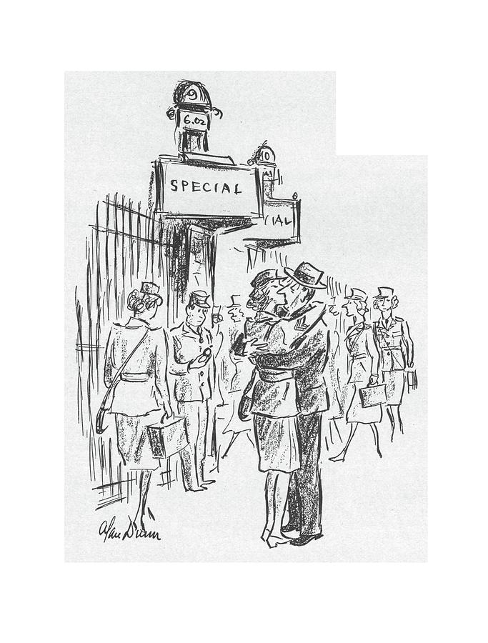 New Yorker July 25th, 1942 Drawing by Alan Dunn