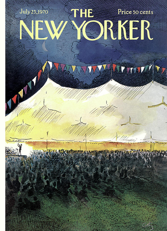 New Yorker July 25th, 1970 Painting by Arthur Getz