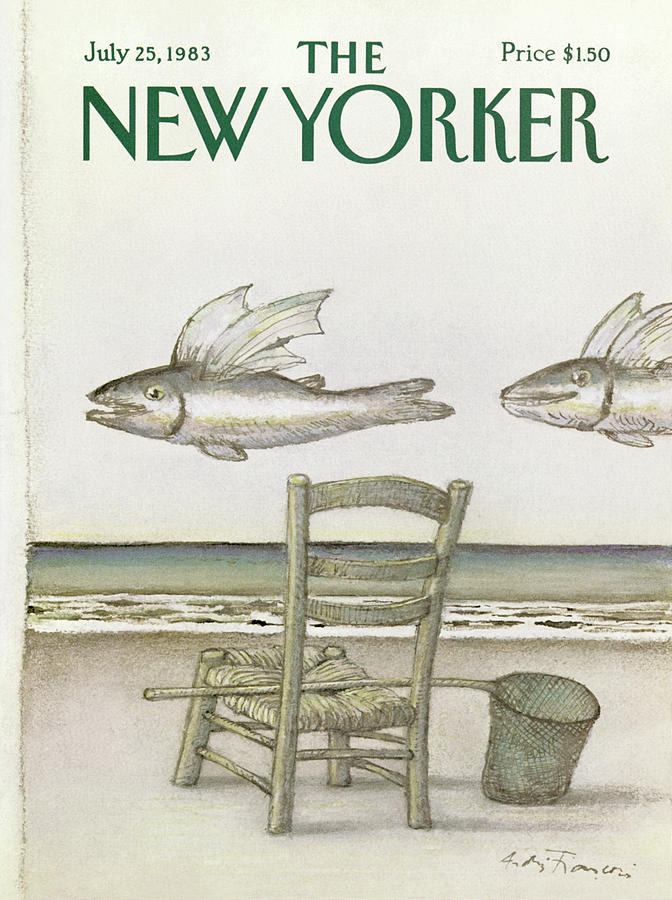 New Yorker July 25th, 1983 Painting by Andre Francois