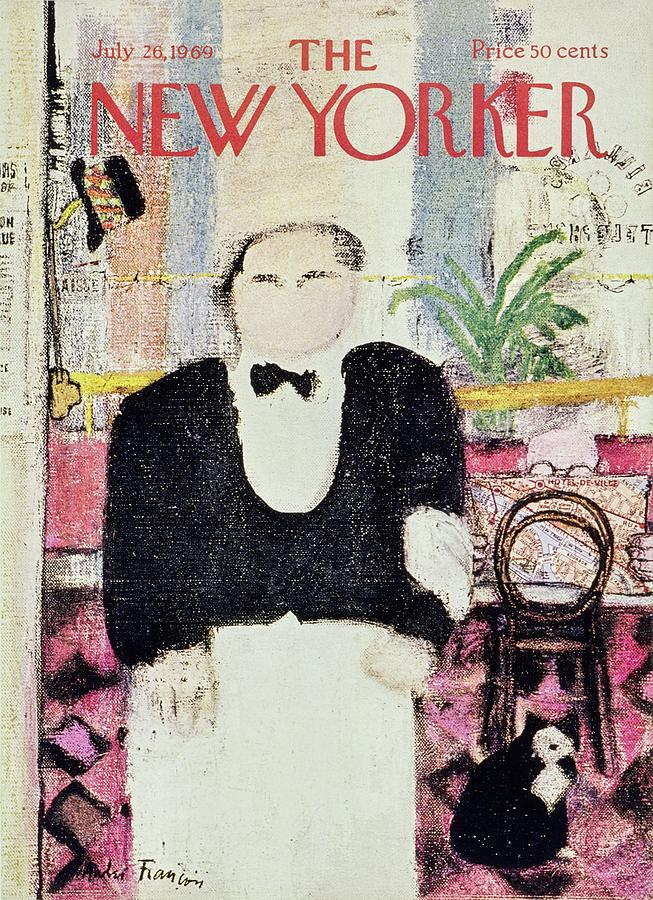New Yorker July 26th 1969 Painting by Andre Francois