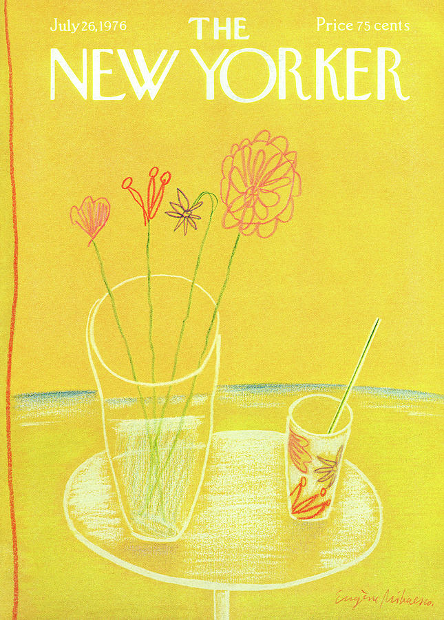 New Yorker July 26th, 1976 Painting by Eugene Mihaesco
