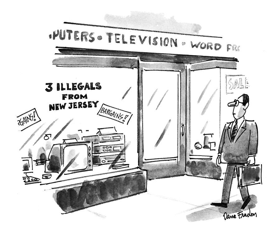 New Yorker July 26th, 1993 Drawing by Dana Fradon
