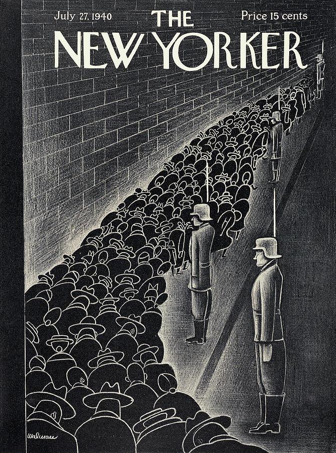 New Yorker July 27th, 1940 Painting by Christina Malman