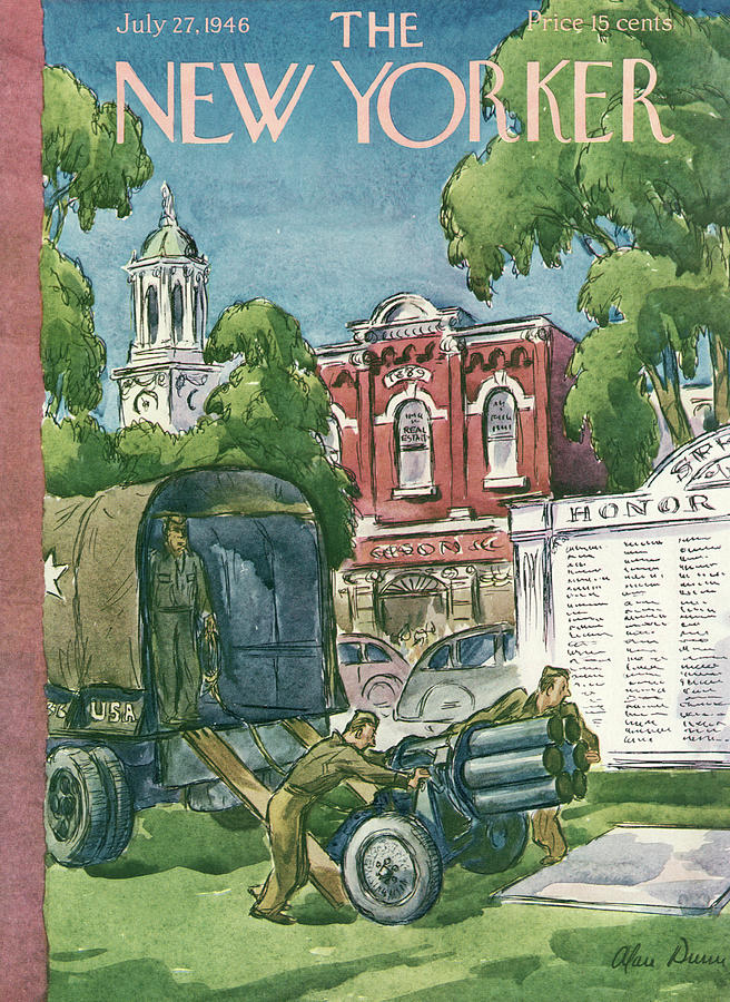 New Yorker July 27th, 1946 Painting by Alan Dunn
