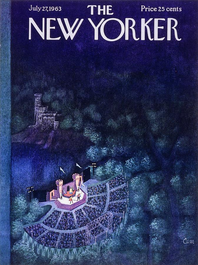 New Yorker July 27th 1963 Painting by Charles Martin