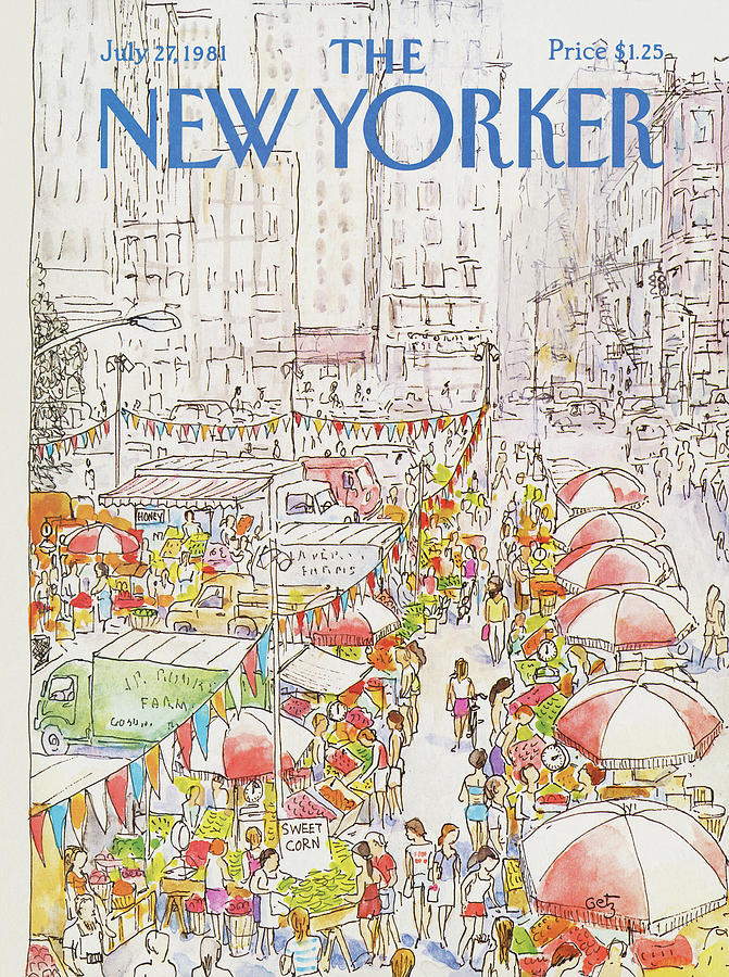 New Yorker July 27th, 1981 Painting by Arthur Getz