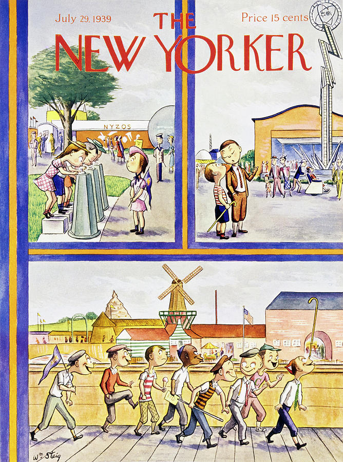 New Yorker July 29 1939 Painting by William Steig