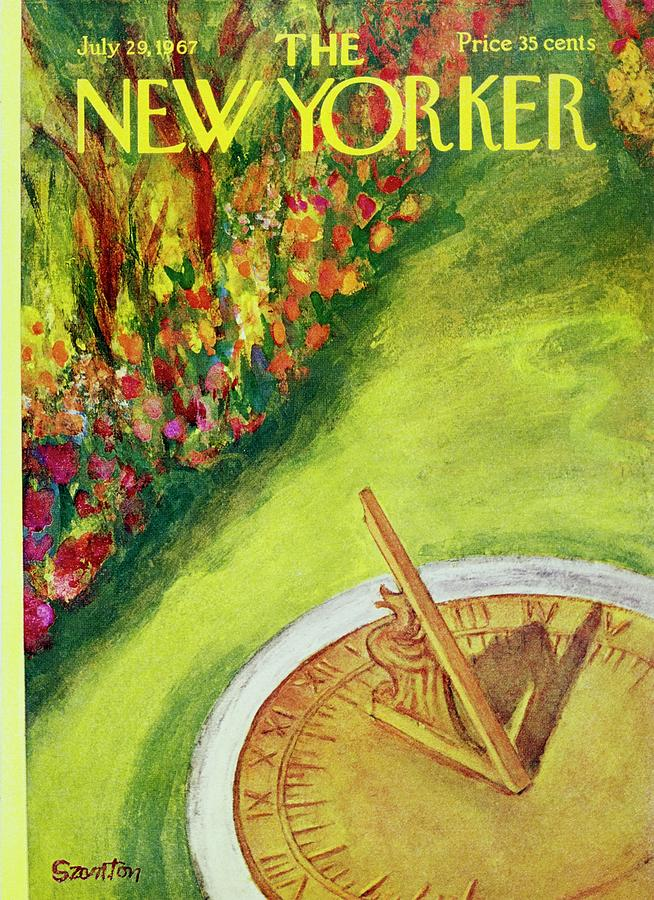 New Yorker July 29th 1967 Painting by Beatrice Szanton
