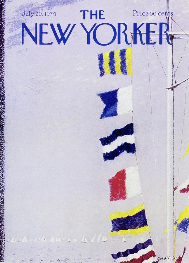 New Yorker July 29th 1974 Painting by Garrett Price