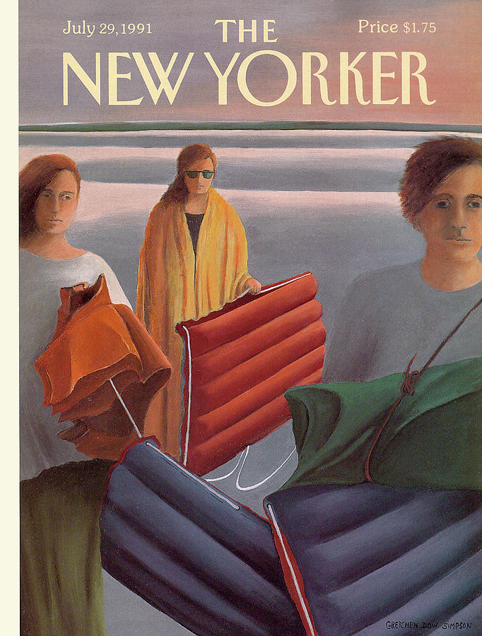 New Yorker July 29th, 1991 Painting by Gretchen Dow Simpson