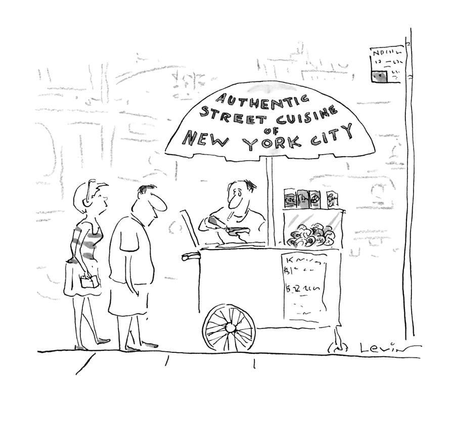 New Yorker July 29th, 1996 Drawing by Arnie Levin