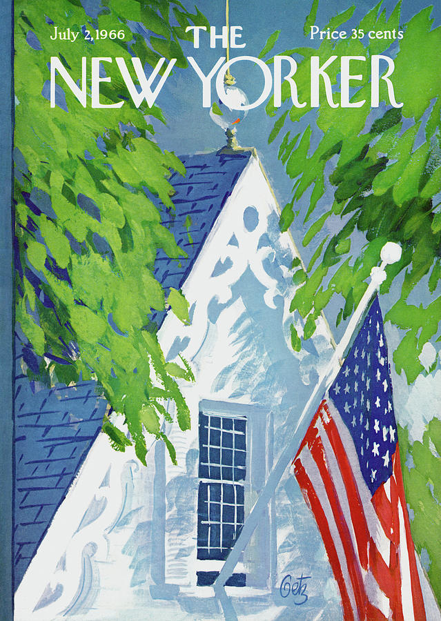 New Yorker July 2nd, 1966 Painting by Arthur Getz