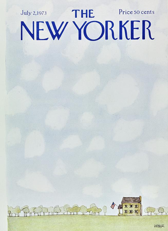 New Yorker July 2nd 1973 Painting by Robert Weber