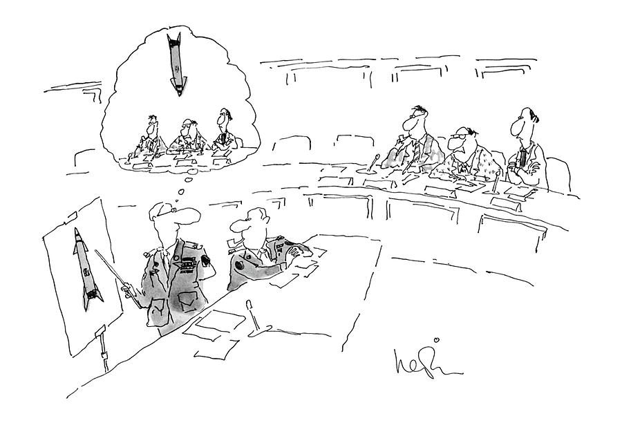 New Yorker July 2nd, 1979 Drawing by Arnie Levin