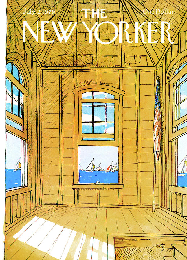 New Yorker July 2nd, 1979 Painting by Arthur Getz