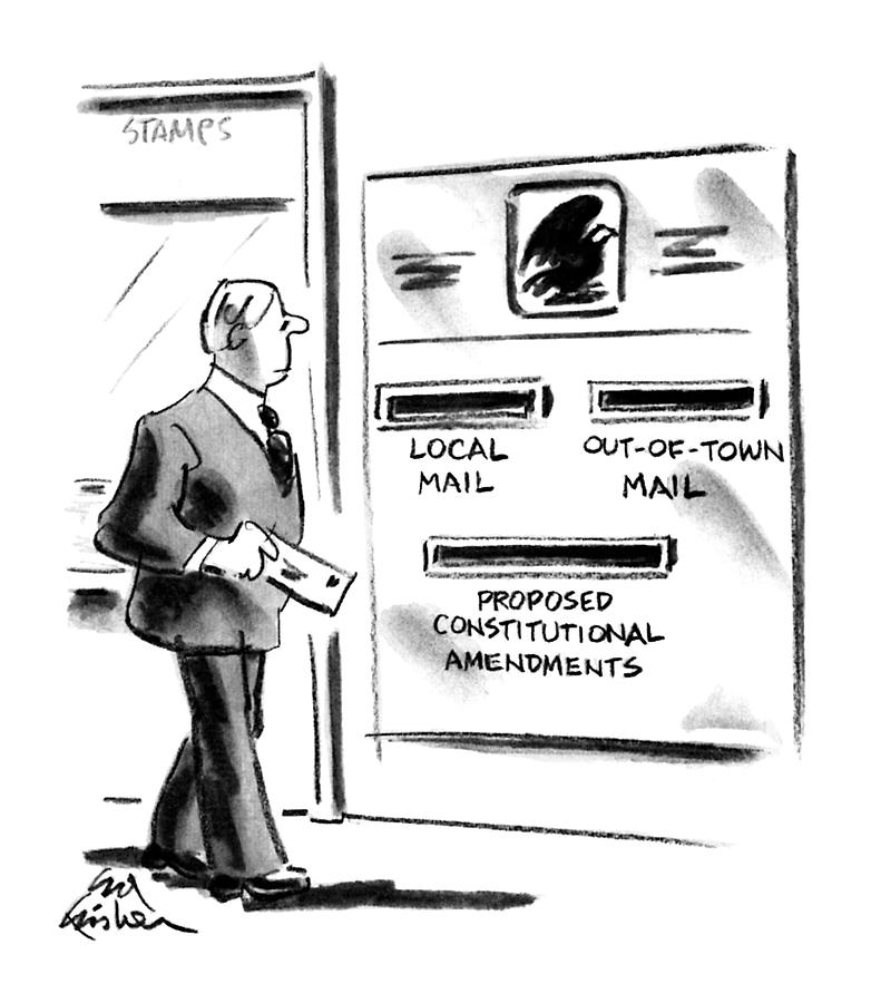 New Yorker July 2nd, 1990 Drawing by Ed Fisher