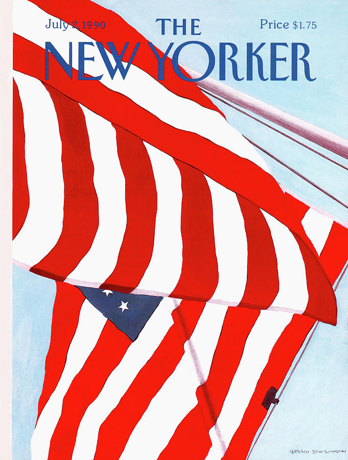 New Yorker July 2nd, 1990 Painting by Gretchen Dow Simpson