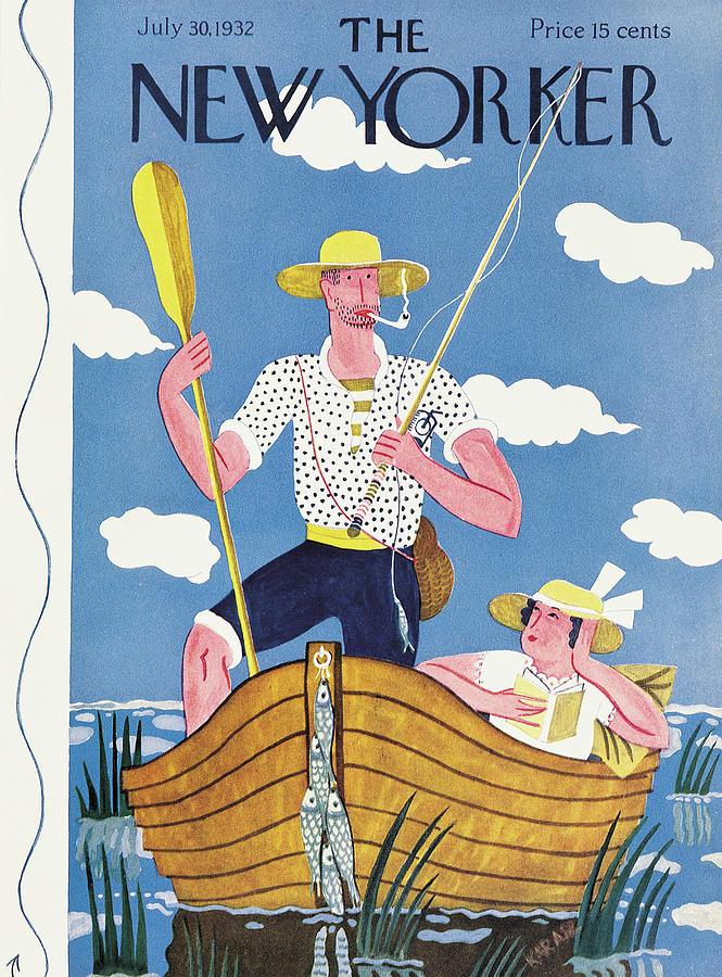 New Yorker July 30th, 1932 Painting by Ilonka Karasz