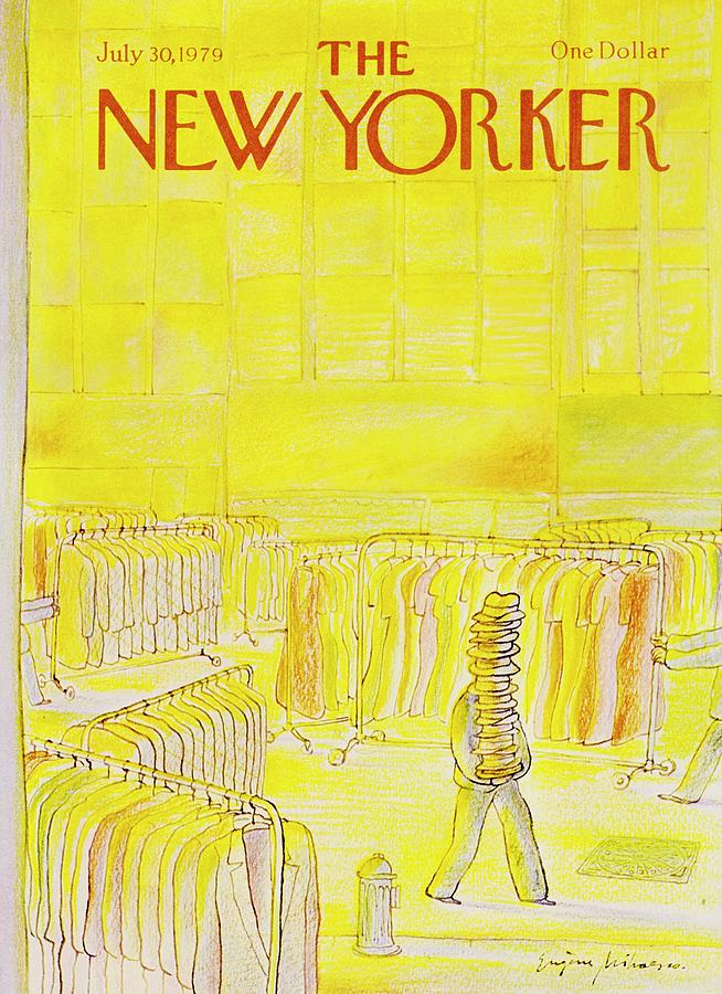 New Yorker July 30th 1979 Painting by Eugene Mihaesco