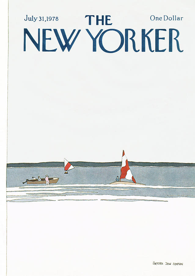 New Yorker July 31st, 1978 Painting by Gretchen Dow Simpson