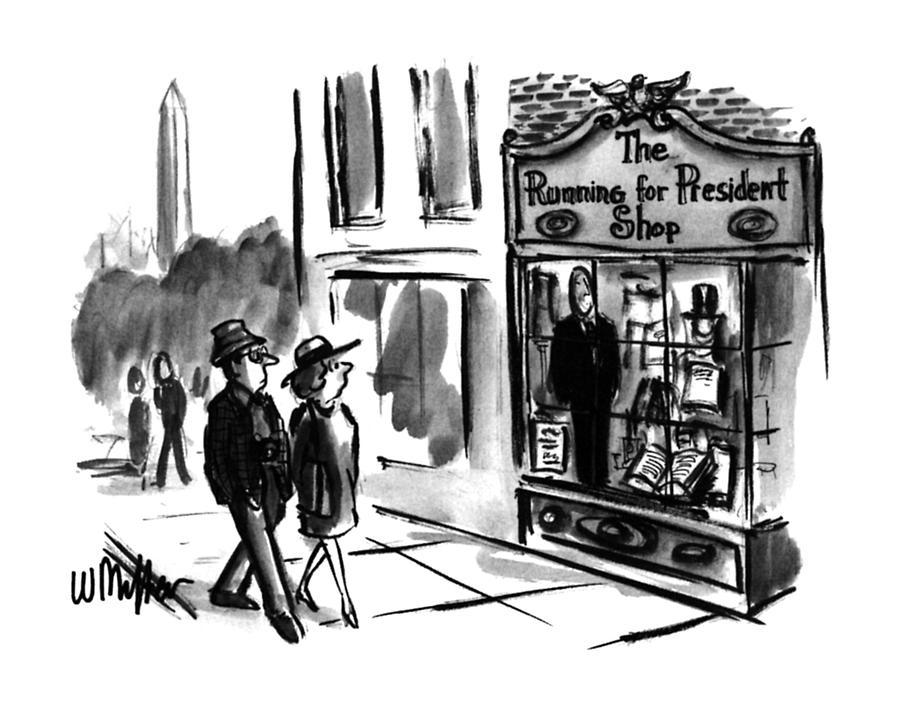 New Yorker July 31st, 1995 Drawing by Warren Miller